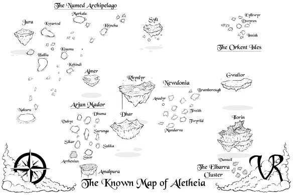 Map 1 White